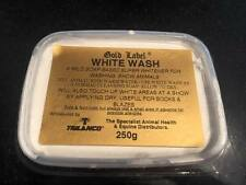 Gold Label WHITE WASH 250g Block Whitener for Show Horses Non-chalk FREE POST