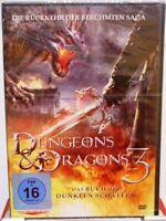 Dungeons Dragons 3 + DVD + Das Buch der dunklen Schatten + Fantasy Abenteuer +