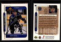 1999-00 Upper Deck MVP Hockey #98 Vladimir Tsyplakov Kings On Card Autograph
