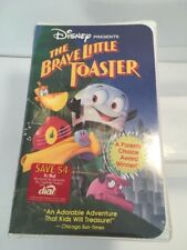 WALT DISNEY THE BRAVE LITTLE TOASTER VHS FACTORY SEALED TAPE Brand New