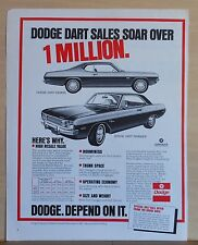 1972 magazine ad for Dodge - Dart Demon and Dart Swinger, Sales Soar