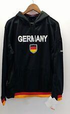 UMBRO Men's LG Germany Black Hoodie Long Sleeve Sweatshirt New