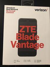New Verizon ZTE Blade Vantage 4G LTE Prepaid Smartphone Black Android  SEALED
