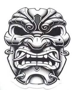 Motorcycle Tank Pad Suzuki Kawasaki Honda Yamaha Ducati Triumph - Angry Mask