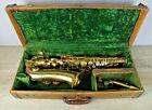 Antique Buescher Elkhart Alto Saxophone w Original case to Display or Restore