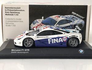 McLaren BMW F1 BMW Motorsport 1996 1:43 Minichamps 80429421491