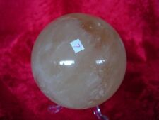 golden calcite sphere   Cj7