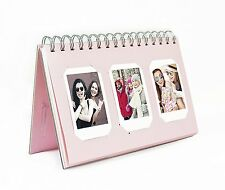 Photo Album Book style 60 Pocket for Fuijufilm Instax Mini (Light Pink)