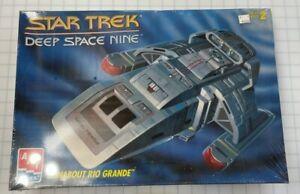 Star Trek Deep Space Nine Runabout Rio Grande Model Kit, 1993, SEALED