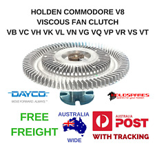 HOLDEN V8 COMMODORE VISCOUS FAN CLUTCH VB VC VH VK VL VN VG VP VQ VR VS VT