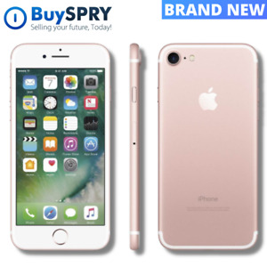 Apple iPhone 7 🍎 Rose Gold 128GB GSM Unlocked ✨ Brand New Smartphone 📱