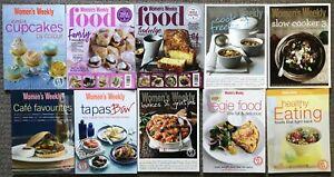 Bulk Lot 10 Australian Women's Weekly Cookbook Recipes Healthy Food Family Bakes