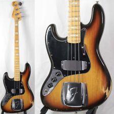 FENDER 1978 JAZZ BASS 3CS LH Electric Bass guitar VINTAGE w/Hardshell case