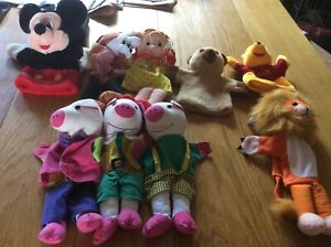 Glove puppet collection