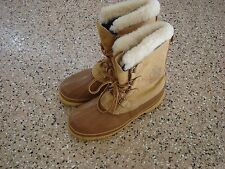 Sorel Men's Kaufman Winter Snow Boots, Tan,  Size 11 Made in Canada