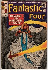 Fantastic Four #47 - FIRST APPEARANCES OF MAXIMUS, AIREO, AND ALPHA PRIMITIVES!