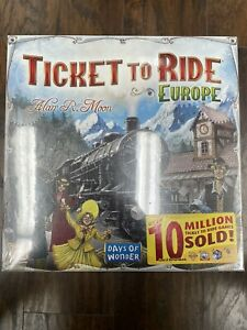 Days of Wonder Ticket to Ride - Europe Board Game (7202)