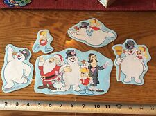 Frosty the Snowman Christmas Fabric Iron On Appliques style# 6