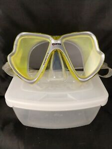 Mares Maschera  X-vision Yellow Liquid Skin Mask Low volume MID size