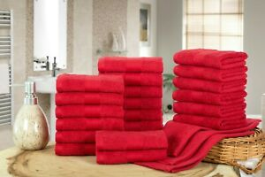 """10 or 24 Pack Wash Cloths Cotton Washcloth 12x12"""" Face cloths by Ample Decor"""