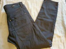 Mens Size 32 X 30 Gray OVS Slim Fit Pants Stretch Cotton.    CB
