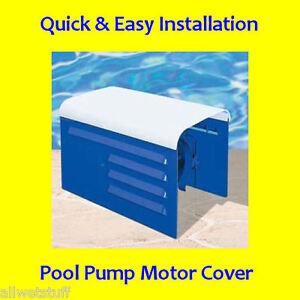 Universal Deluxe Sprinkler Pool Pump Motor Cover irrigation Rain Sun box kit NEW