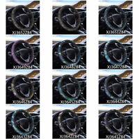 Dragonfly Car Steering Wheel Cover Anti-Slip Universal Protector Elastic Covers