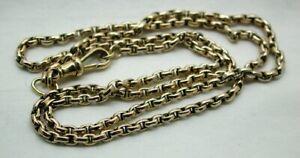 Fabulous Antique 9 carat Gold Belcher Link Chain