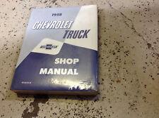 1958 CHEVY Chevrolet Truck Workshop Service Repair Shop Manual REPRINT NEW