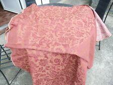 tissu  ancien vintage fleuri 1,38 m x 8,80 m