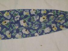 Lot 4 Laura Ashley Polyanthus Primrose Curtain Tie Backs Blue Flowers Vintage
