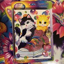 Lisa Frank Light Up Diary Kittens Sneakers NEW lick LED