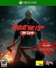 Friday The 13th: The Game Xbox One * NEW *