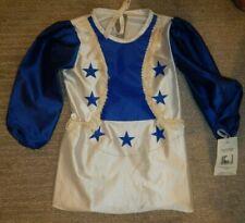NWT VINTAGE Dallas Cowboys Cheerleaders Halloween Costume Toddler 2T / 3T