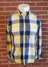 Bills Khakis Long Sleeve Button Down Shirt Classic Fit Mens Size Medium Checker