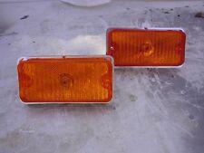 NEW LOW PRICE - Chevrolet Step Van P20 P30 Amber Turn Signal Lights Plastic Base