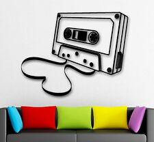 Wall Stickers Vinyl Decal Musicassette Musiс Retro Vintage Decor (ig1777)