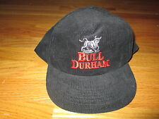 BULL DURHAM Minor League Baseball (Adjustable Snap Back) CORDUROY Cap