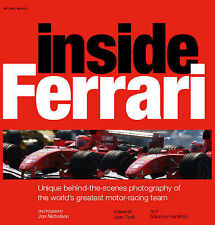 Inside Ferrari: Unique Behind-the-scenes Photography plus rare Olympus insert