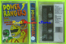 MC POWER RANGERS  SIGILLATA SEALED SOUNDTRACK  d'artagnan conan (*)cd lp dvd vhs