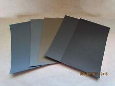 Sandpaper Combo Pack (20pc)  220/320/400/600/800/ Grit  (4.5) Sand Paper