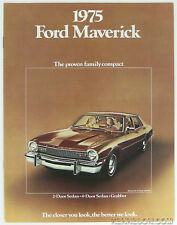Ford 1975 Maverick Sales Brochure
