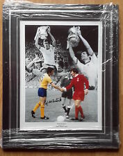 ARSENAL-1971 FA CUP-SIGNED & FRAMED MONTAGE PHOTO by FRANK McLINTOCK-AFTAL/UACC