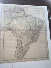 More details for 1834 brazil j arrowsmith map from the london atlas antique