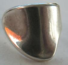 RARE VINTAGE DAVID ANDERSEN MODERNIST STERLING 925S NORWAY ADJUSTABLE RING