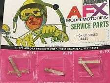 One Pair AURORA AFX MODEL MOTORING SERVICE PARTS One Pair PICK UP SHOES 8521