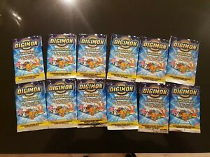 Digimon Animated Series 1 - 12 booster pack lot, English