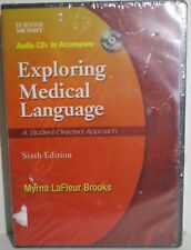 New Mosby audio cds set to accompany Exploring Medical Language sixth edition
