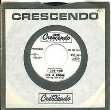 Joe & Eddie:I got you/Petticoat white:US GNP Crescendo: DJ:Northern Soul