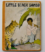 LITTLE BLACK SAMBO (1928) Hardback Vivid PICTURES BY EULALIE; Platt & Munk NY